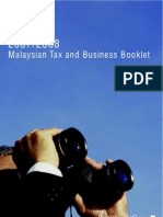Malaysian Tax Guide 2008