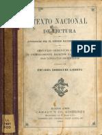 textro nacional de lectura