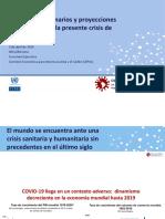COYUNTURA - ESCENARIOS - PROYECCIONES AL 2030 - COVID-19