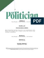The Politician Episode Script 1 02 the Harrington Commode