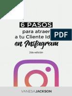 ebook método Instagram de Vanesa jackson