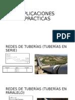 APLICACIONES PRÁCTICAS REDES DE TUBERIAS G6