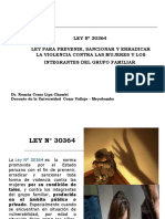 VIOLENCIA FAMILIAR LEY 30364