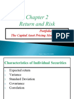 CH 2 - Return and Risk