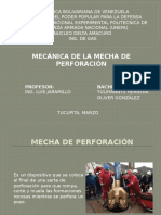 Mecanica de la mecha de perforacion.pptx
