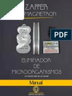 Manual Nuevo Zapper