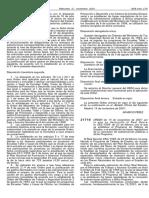 Orden 14 noviembre 2001 desarrolla programa Talleres de Empleo