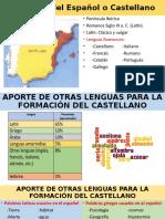 Aportes de Otras Lenguas en El Español