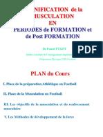 Planification de La Musculation 30-11-2015