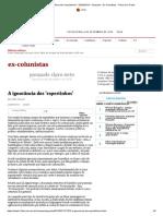 A ignorância dos 'espertinhos' - 02_05_2013 - Pasquale - Ex-Colunistas - Folha de S.Paulo