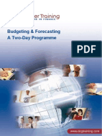Budgeting and Forecasting 2 Days
