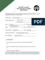 AFSCME Alder Manic Questionnaire 2011-Valerie F. Leonard