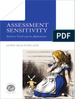 Assessment-Sensitivity-Relative-Truth-and-its-Applications