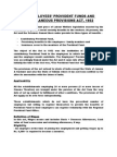 Provident Fund Act Summary