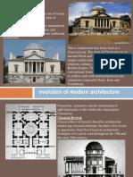 modern architecture- revival