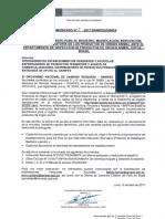 comunicado 03-2017-SANIPES-DSNPA  DIPOA