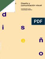 Bruno Munari - Diseno y Comunicacion Vis