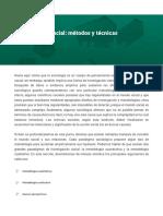 Investigacion Social-metodos y tecnicas