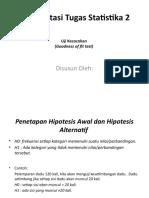 Uji Kecocokan (Slide)