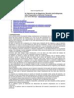 DS Derecho Empresarial Comercial