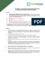 Accelerator Program - Draft Equity Agreement