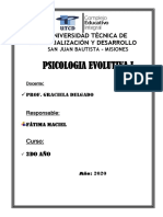 Psicologia Evolutiva 1