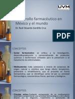 Desarrollo farmacéutico en México y el mundo