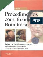 Procedimentos com Toxina Botulinica.pdf