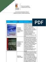 Estructura económica colombiana. Arango Londoño, Gilberto. Introducción a la economía colombiana. Cárdenas, Mauricio. Marketing. Cateora, Philip R..pdf