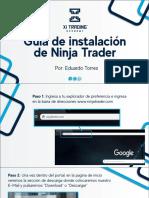 Guia de Instalacion de Ninja Trader