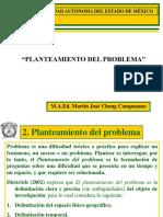 2. PLANTEAMIENTO DEL PROBLEMA JULIO DE  2012