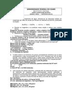 Química Geral - portfólio I
