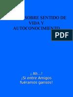 TALLER SOBRE SENTIDO DE VIDA Y AUTOCONOCIMIENTO (SEÑORAS)