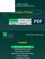 principles of testing Istqb 6