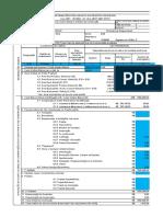 Quadro de áreas ABNT NBR 12721