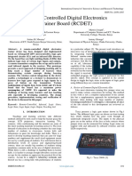 Remote-Controlled Digital Electronics