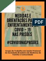 Medidas e orientações para o enfrentamento a COVID – 19  nas prisões