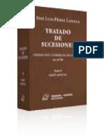 Tratado de sucesiones. Parte Especial. Pérez Lasala