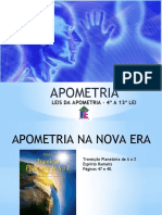Apometria - Aula 3 - Leis da Apometria - 4ª a 13ª