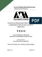 CURVAS DE FRAGILIDAD PARA PUENTES CARRETEROS TÍPICOS DEL PACÍFICO MEXICAN.pdf