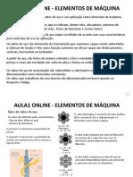 AULAS ONLINE ELEMENTOS DE MÁQUINA - CABOS DE AÇO.ppsx