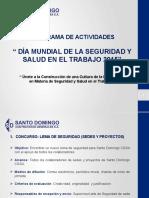 PPT Programa Dia Mundial de la Seguirdad y Salud en el Trabajo 2019.pptx