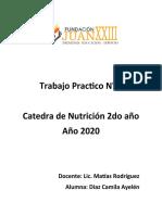 Trabajo Practico N 2 Nutricion