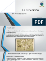 La Expedicion de Pedro de Valdivia