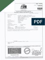 Certificado de Directorio