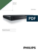 Manual Del DVD Phillips DVP 3350K
