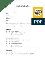 Cuestionario de salud (Autoguardado)