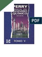Manual Del Ingeniero Químico Tomo V