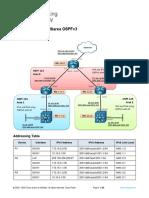10.1.2 Lab - Implement Multiarea OSPFv3
