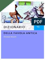 Dizionario Della Favola Antica